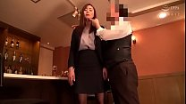 Image: Office lady is hypnotized to obey master