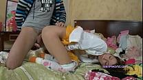 幼児体型中学生のロリっ子がロリコンの変態おっさんから全身を舐められ凌辱