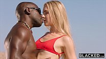 BLACKED Blonde tourist fucked in the ass by black local preview image