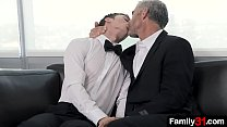 Young stepson offers his virgin hole to horny stepdad