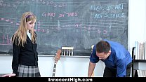 InnocentHigh- Cute Redhead (Dollie Leigh) fucks her teacher