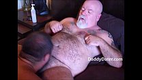 HairyDaddybearTattooedBlowjob
