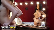 BANGBROS - Victoria June Takes Advantage Of Charlie Mac And His Big Black Cock