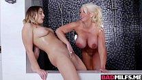 Blair and Alura Jenson fucking with tits