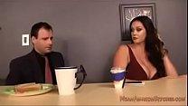 big boobs slut fucking in meeting room