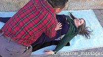 Big Boobs Massaged in Public (Rubbing & Blowing) thumbnail