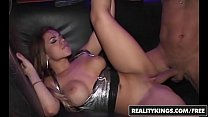 Party sluts (Dylan Daniels, Ashley Grace) flash and fuck in the vip - Reality Kings
