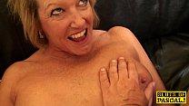 British mature plowed hard by maledoms cock thumbnail
