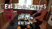 12174 MILFs Play with Veggies in Kitchen preview