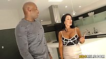 Busty Simone Garza Discovers Anal With Black Cock