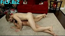 Wenona in Mom wrestles naked with son preview image