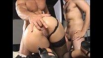 Slutty brazilian milf slammed by two y. boys Vol. 4