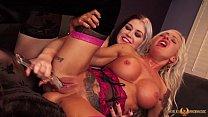 Nikki Phoenix going lesbian with Callie Maze
