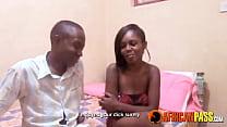 Image: Ebony couple amateur fucking sex tape