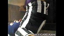 ValesCabeza045 SELF-CUM 6 JUV Autocorrida 6 Futbolista Juve