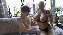 Busty step mom fucked by son's friend Image
