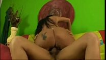 Big booty brazilian Soraya Carioca rides dick preview image