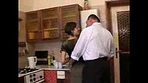 Dad and Daughter in Kitchen pornhub video
