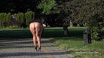 Enjoying the summer park image