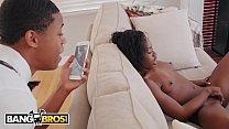 BANGBROS - Lil D Finds Noemi Bilas Masturbating, Let's Her Get On That Dick - 69VClub.Com