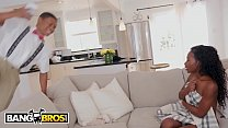 BANGBROS - Lil D Finds Noemi Bilas Masturbating, Let's Her Get On That Dick thumbnail