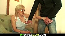 Horny old m.-in-law
