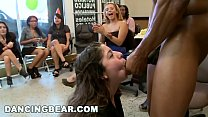 DANCING BEAR - Alaina's Fiesta Turns Into A CFNM Gangbang Party!