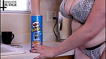 Tiny Man In Pringles Can Vore Giantess