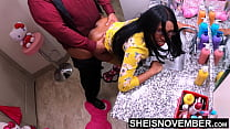 Caught and Fucked by Horny Stepdad, Sheisnovember Drilled Doggysytle on Floor, Ebony Daughterinlaw Taboo Family Fuck While Her Mother is Gone, Huge Nipples And Breasts Bouncing, Taking Painful Harcore Smashing by Msnovember
