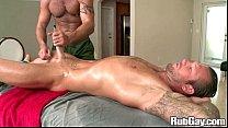 Rubgay Hunk Cock Massage