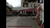 Image: Skinny blonde bondage on the streets