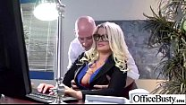 Sex Tape In Office With Slut Nasty Big Melon Tits Girl (julie cash) vid-20 Image