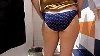 Golden shower in public toilets. Compilation fetish video.