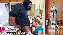 BANGBROS - Strong Arming AJ Applegate's Tight Pussy Behind BF's Back صورة