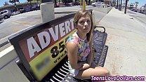 Money teen banged jizz