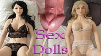 Sexdolls & 6 Cumshots. Real Love Dolls. Sex Fuc...
