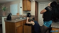 "13602 Lonely Latina housewife fucks the ""plumber"" while husband is at work preview"
