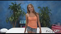 Stunning teenie feels fat dick entering her taut rectal hole