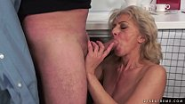 Hairy Granny Gets Fucked by a Younger Cock صورة