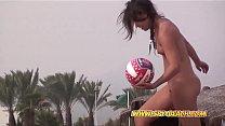 Horny Voyeur Beach Amateur Couples Compilation Video Vorschaubild