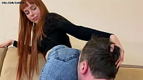 Young Girl In Jeans - Scissoring Femdom During Pussy Kissing and Ass Kissing (Preview)
