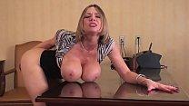 Big Tit Boss Evaluates Your Performance