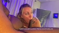 Chloe Sparkles Sucking Off Daddys Friend