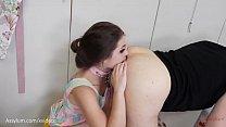 1950s babes worship and share man's ass (deep ass eating with Anastasia Rose, Maria Jade) thumbnail