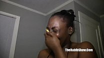 ghetto hood cocoa kat fucked in the trap by quickie mart worker preview image