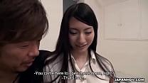 Japanese teen, Yuuki Fuwari wants to be a pornstar, uncensored thumbnail