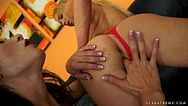 Fisting babes Kiara Lord and Valentina Bianco image