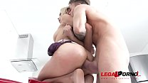 Veronica Leal assfucked by Chris Diamond's huge cock BZ013 preview image