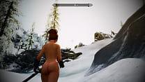[SKYRIM MOD] Sexy Battle with Dragon Returns video