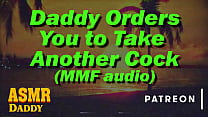 Audio for sub Girls - Daddy Orders you to take two Cocks (MMF Threesome)